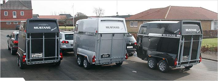 Mustang trailere